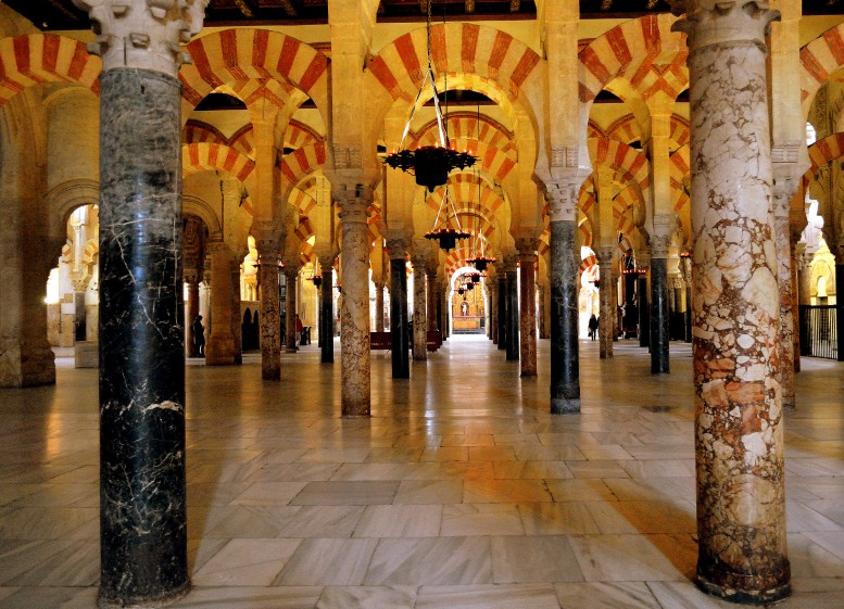 Great Mosque of Cordoba which was later turned into a Cathedral